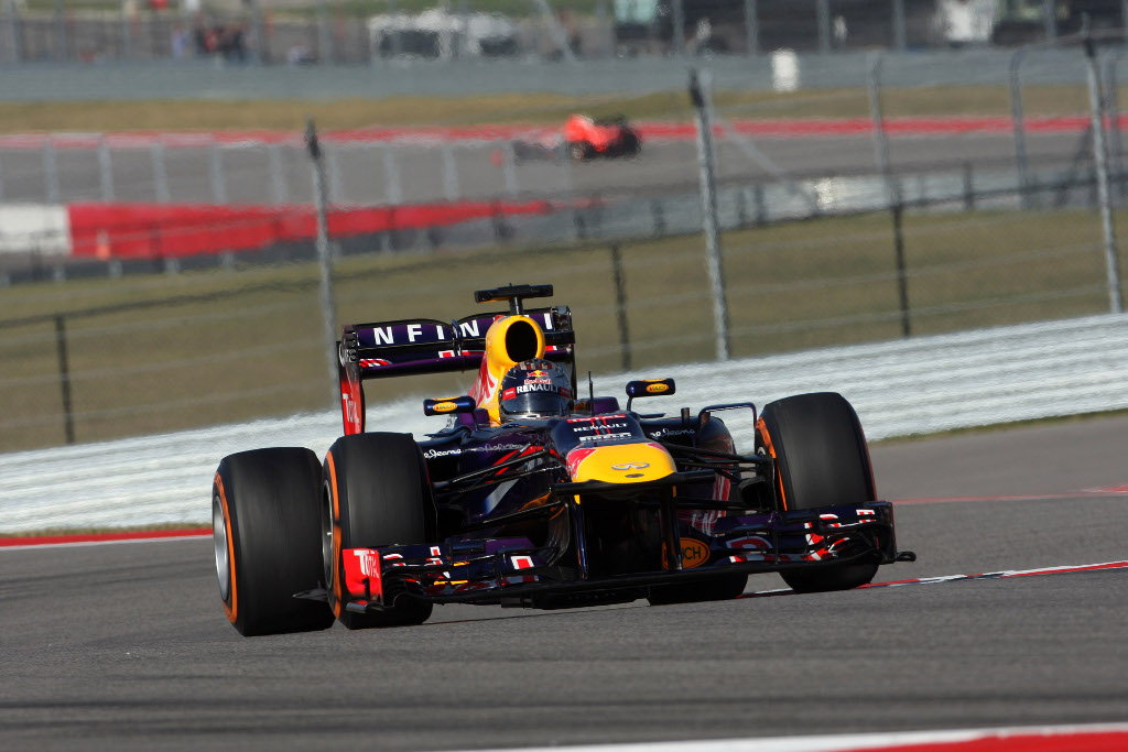 Libere 3 ad Austin, ancora Vettel davanti a tutti