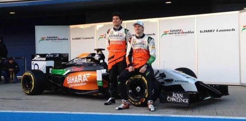 Presentata la nuova Force India VJM07