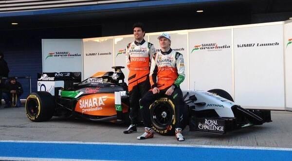 Presentata la nuova Force India VJM07