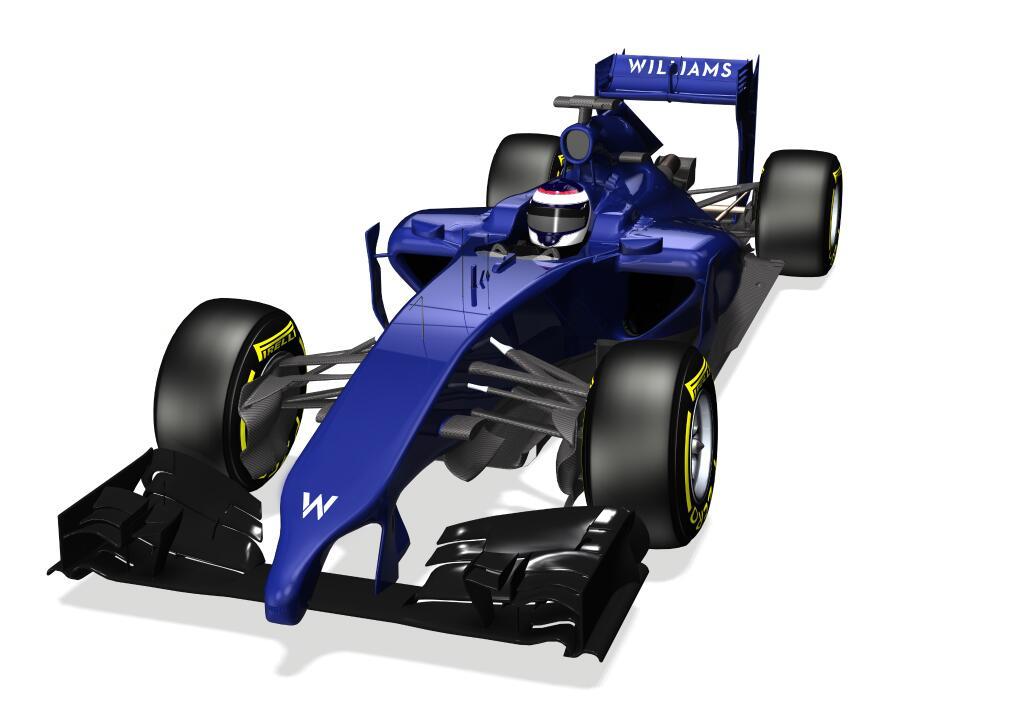 La Williams ha pubblicato il rendering 3D della FW36
