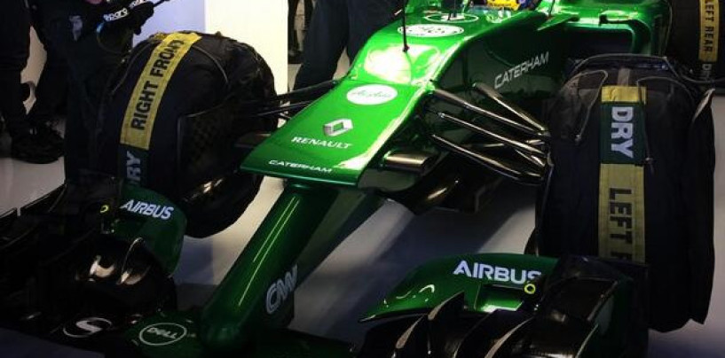 Caterham CT05 al debutto a Jerez