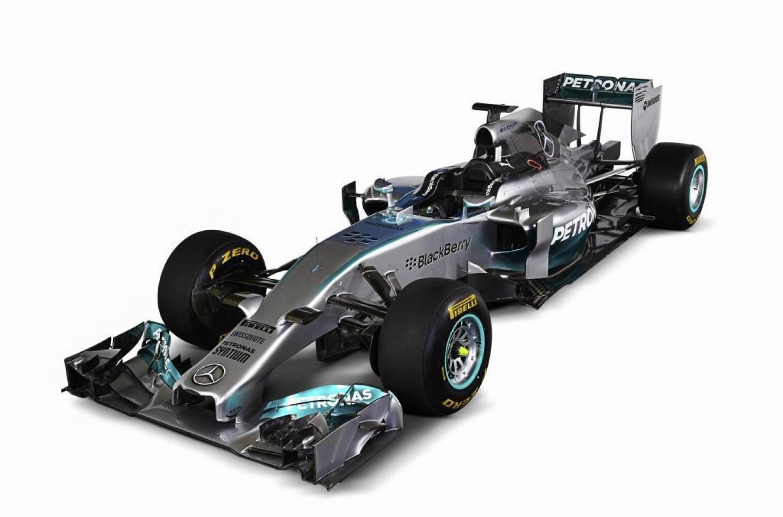 Ecco la nuova Mercedes W05