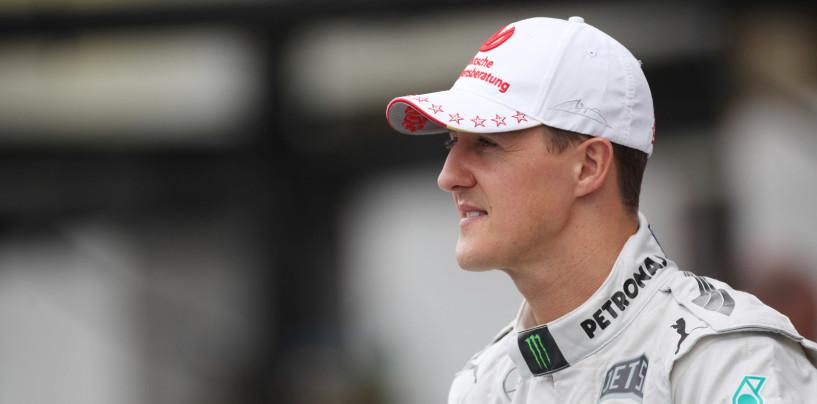 Aggiornamento su Schumacher da Sabine Kehm