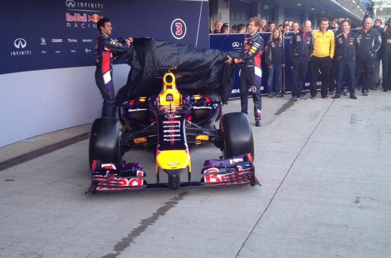 Red Bull RB10 presentata a Jerez