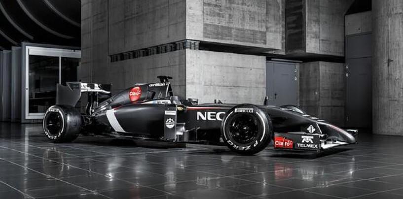 Prime immagini della Sauber C33
