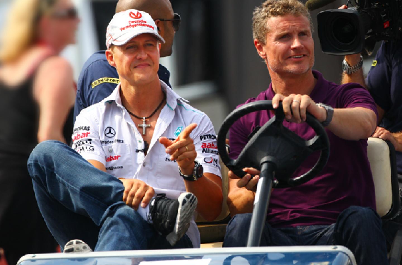 """Coulthard: """"Spero che Schumi ce la faccia così che possa vedere quante cose belle le persone stanno dicendo su di lui"""""""