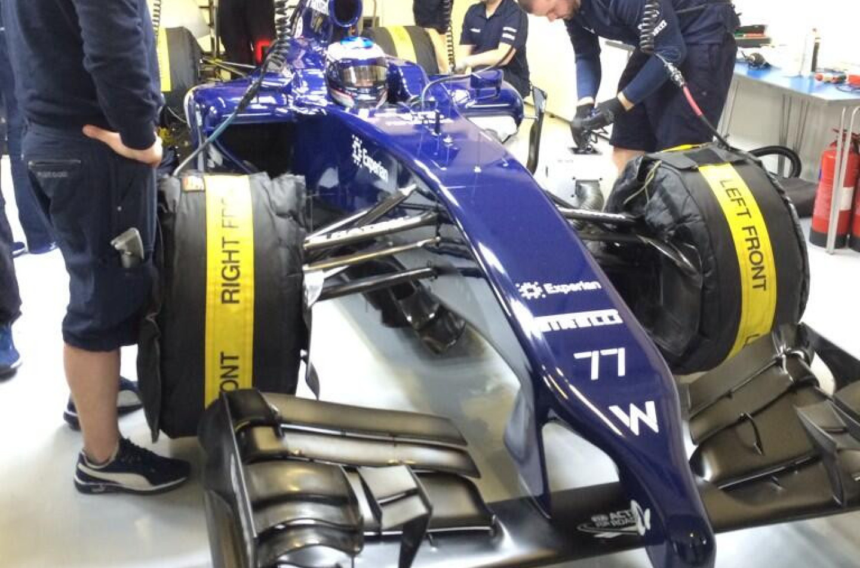In pista a Jerez anche la Williams FW36