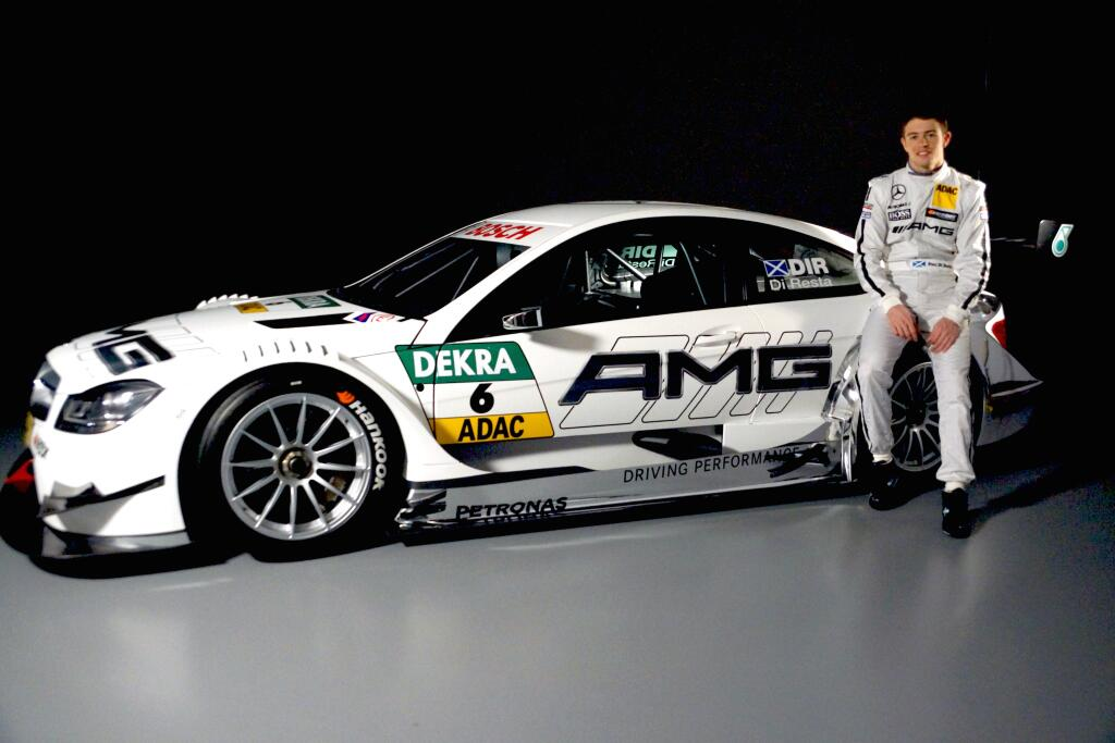 Paul Di Resta torna in DTM con la Mercedes