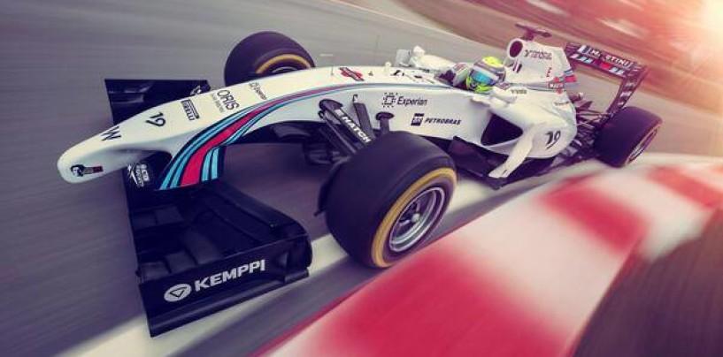 Martini torna in F1 con la Williams: nasce la Williams Martini Racing