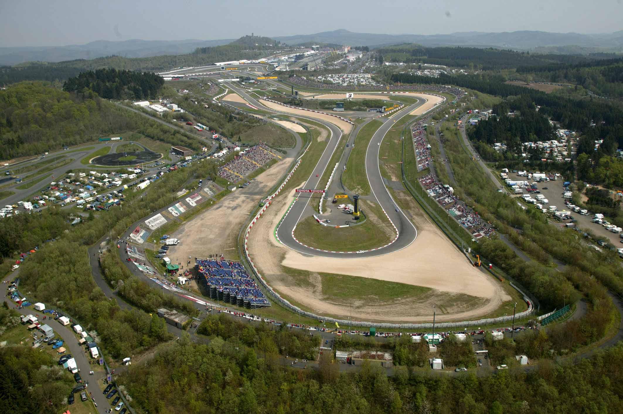 Il Nurburgring è a rischio cancellazione dal calendario di F1