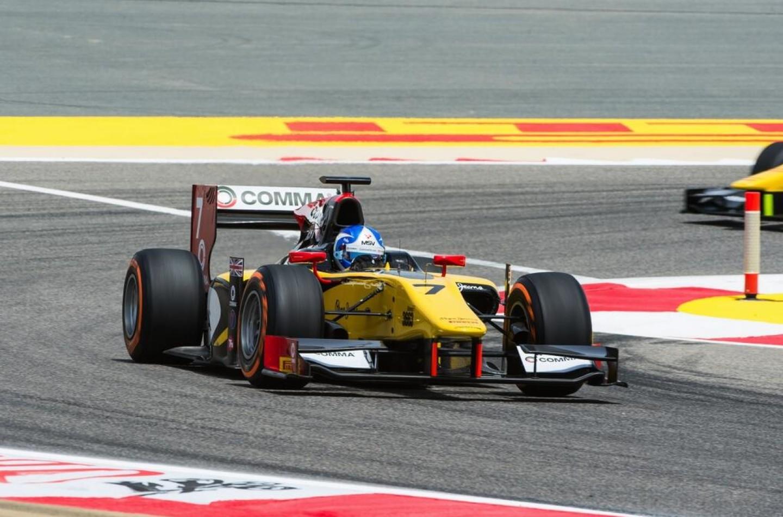 GP2, Sakhir: Jolyon Palmer in pole position