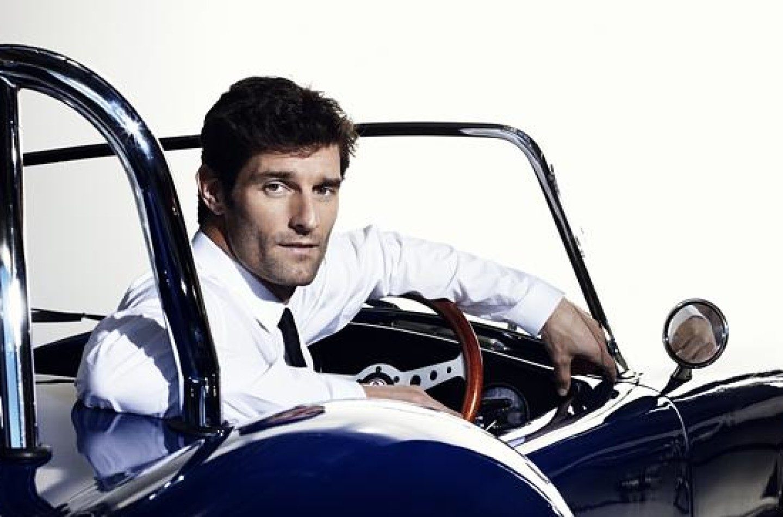 Mark Webber si congratula con Daniel Ricciardo