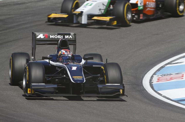GP2 Hockenheim: show di Mitch Evans, sua gara-1
