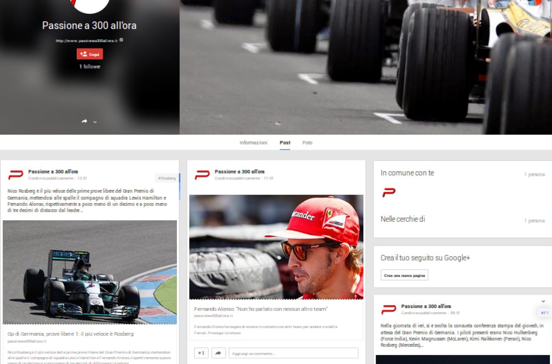 Seguiteci anche su Google +!