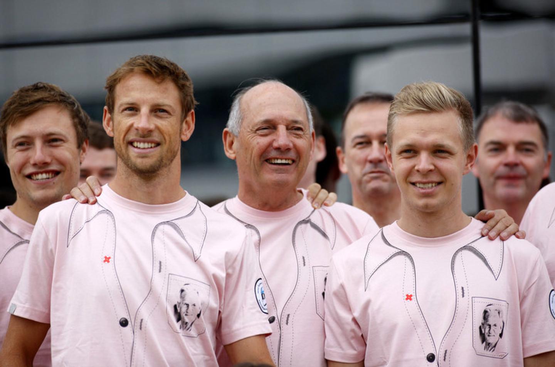 """Jenson Button: """"Oggi mio padre sarebbe stato molto felice"""""""