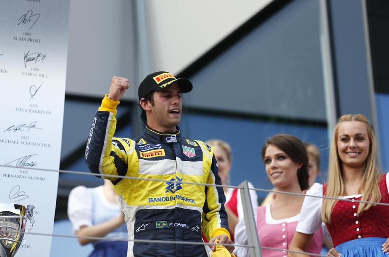 GP2 Silverstone: gara-2 a Nasr, Marciello subito fuori