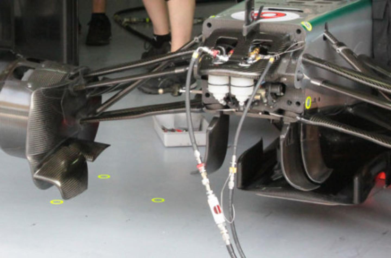 La FIA vorrebbe bandire il sistema di sospensioni interconnesse FRIC
