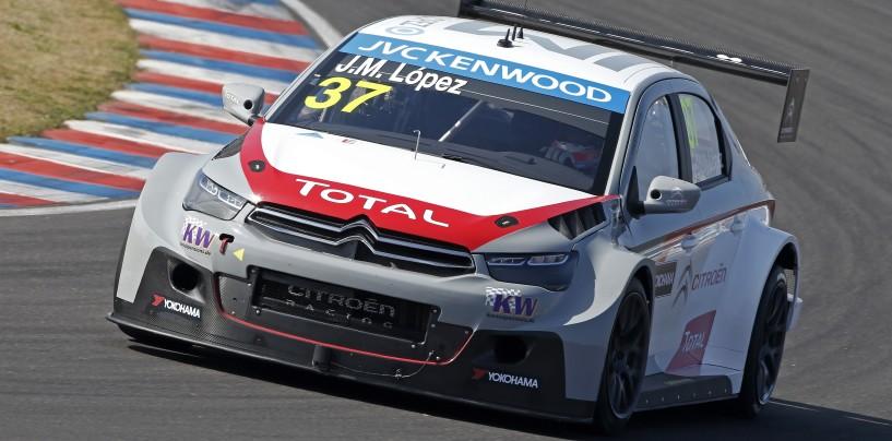 WTCC Río Hondo: López brilla, Chilton tiene in alto la Chevrolet