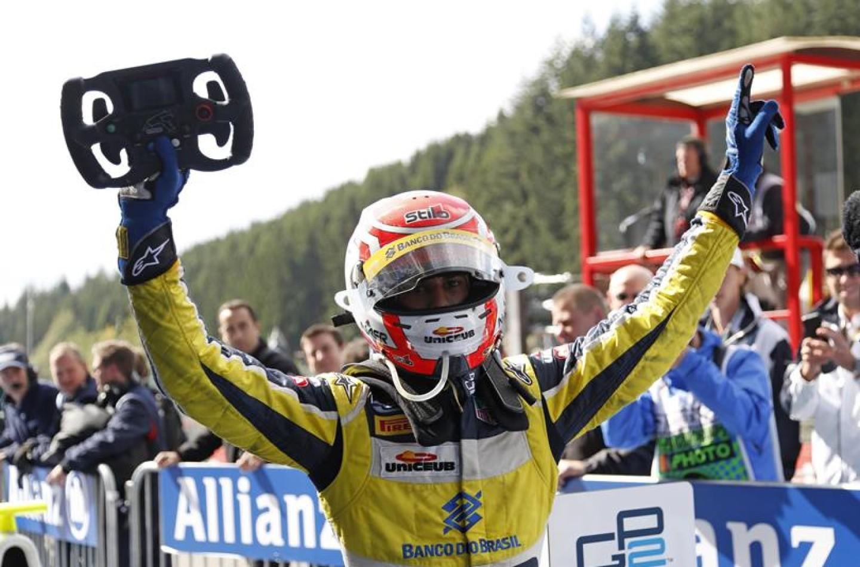 GP2 Spa: successo per Felipe Nasr
