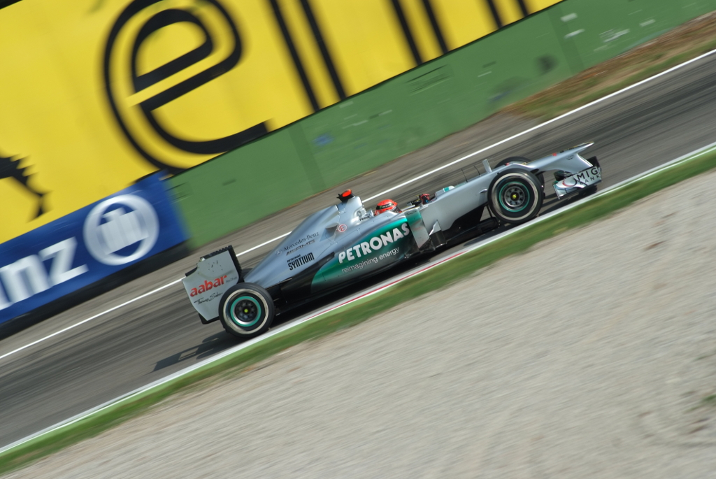 Monza, nostalgia di Schumi