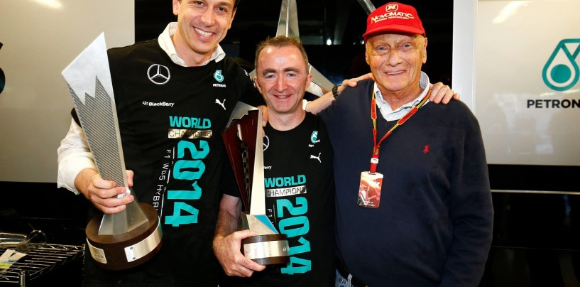 """Mercedes, Toto Wolff: """"Questo trofeo è anche di Ross Brawn"""""""