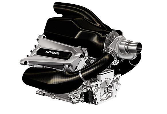 Honda: svelata la prima immagine della sua Power Unit