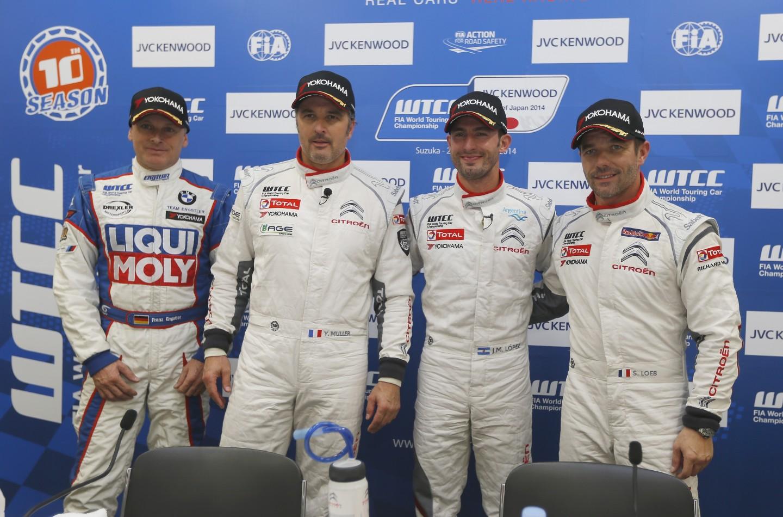 WTCC Suzuka: pole position per López, nuovo dominio Citroën
