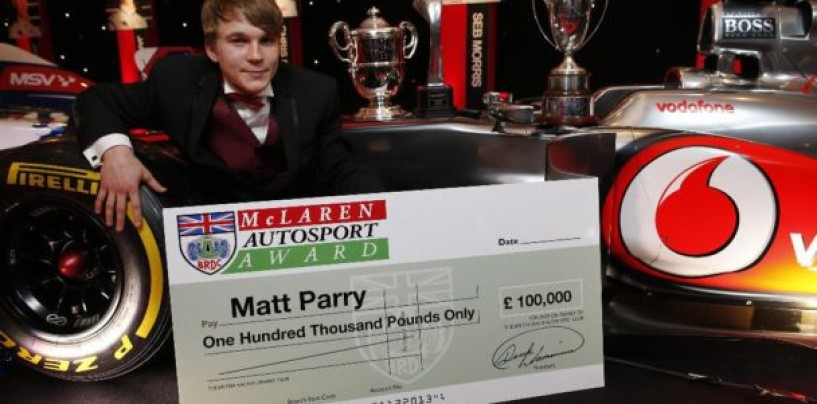 Matt Parry ha completato i test sulla McLaren MP4-26