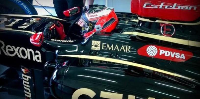 Esteban Ocon completa i primi test con la Lotus E20