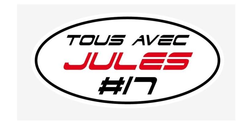 """""""Tous avec Jules #17"""". Tutti uniti per Jules a Sochi"""