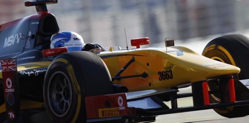 GP2 Sochi: Jolyon Palmer è il nuovo campione, Marciello sul podio