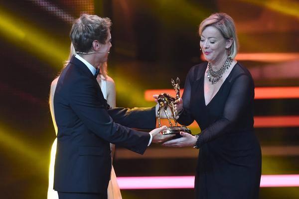 Michael Schumacher premiato con il Bambi Award 2014