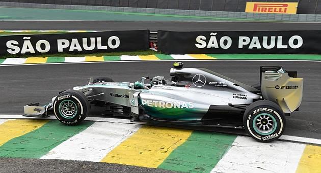 GP del Brasile, prove libere 2: ancora Rosberg al comando, problemi per Alonso