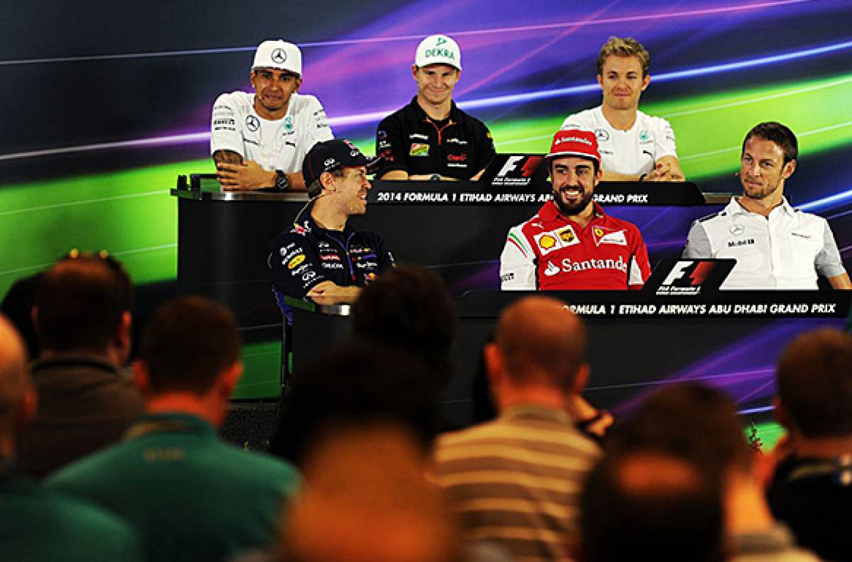 GP di Abu Dhabi: la conferenza stampa del giovedì
