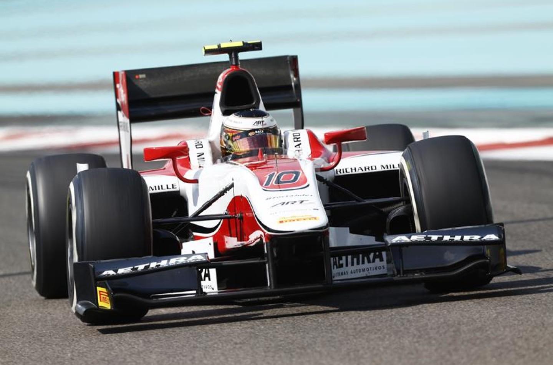 GP2 Abu Dhabi: Vandoorne in pole con record