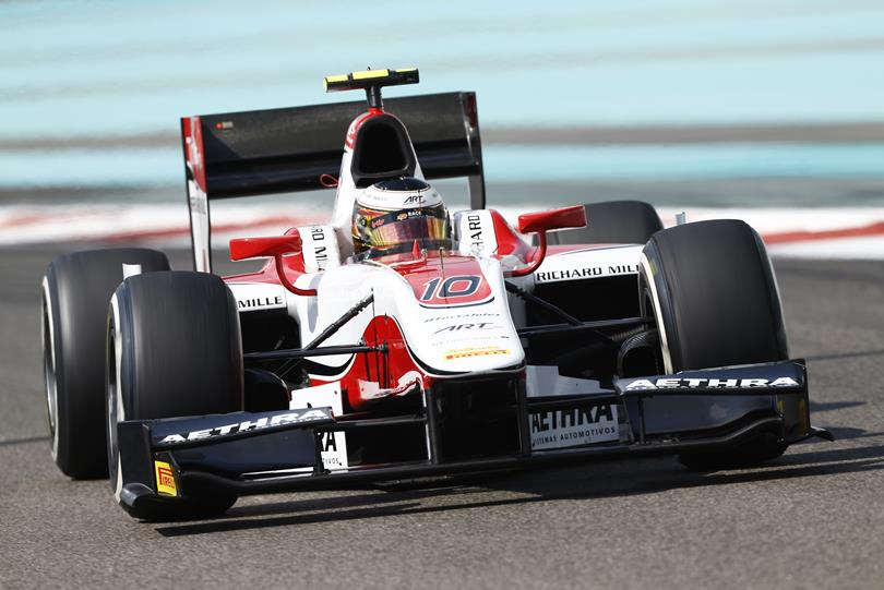 GP2 Abu Dhabi: Vandoorne in pole con record