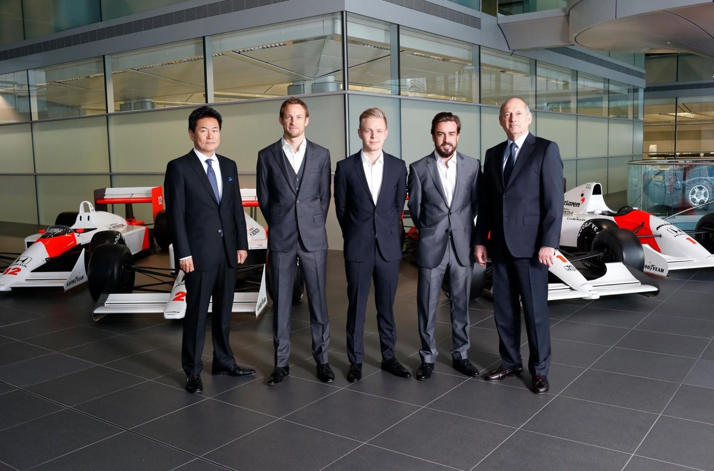McLaren: annunciati Fernando Alonso e Jenson Button per il 2015