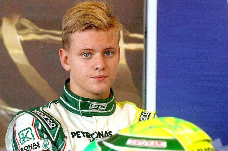 Mick Schumacher ha testato una Formula 4