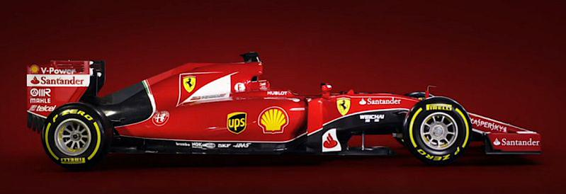 SF15-T: ecco la nuova Ferrari per la stagione 2015