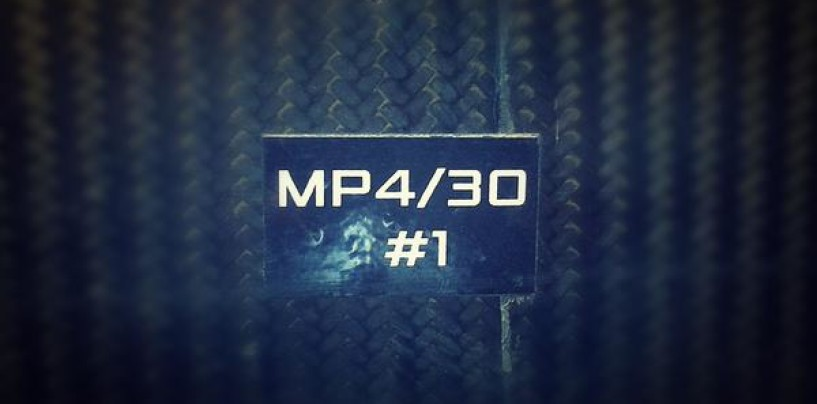 Mclaren Mp4/30 presentata il 29 gennaio