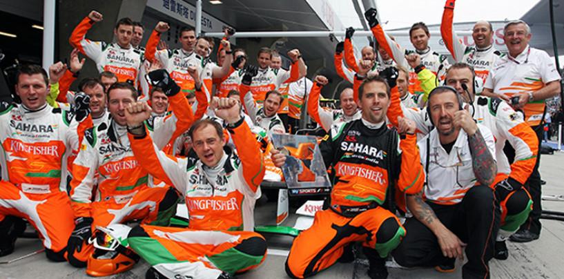 Force India: a Jerez in pista una monoposto del 2014