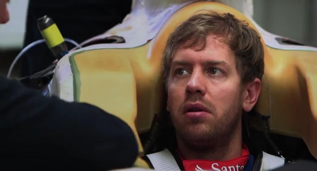 La Ferrari gioca con i dettagli: Vettel sulla Ferrari 2015