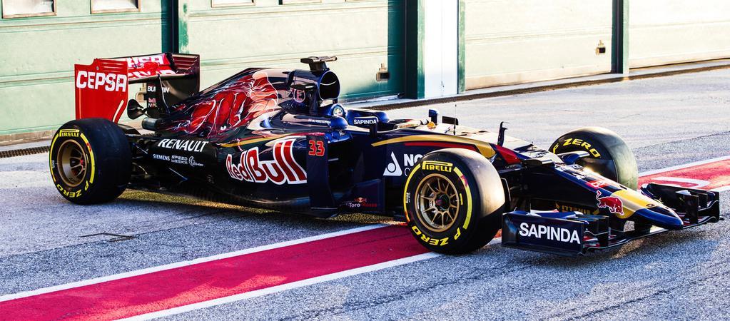 Presentata a Jerez la Toro Rosso STR10