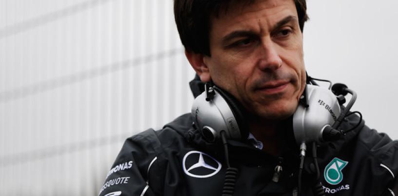 """Toto Wolff: """"Le vittorie della Ferrari ci hanno dato una svegliata"""""""