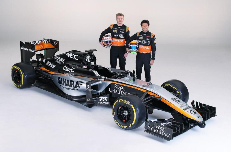 Ecco la nuova Force India VJM08