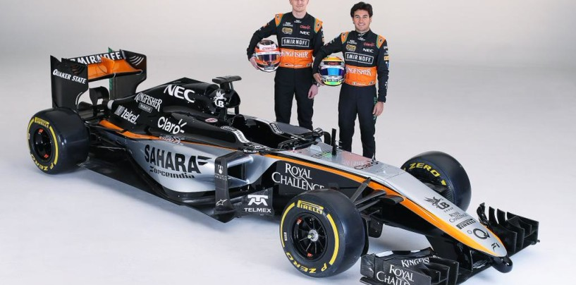 Ecco la nuova Force India VJM08