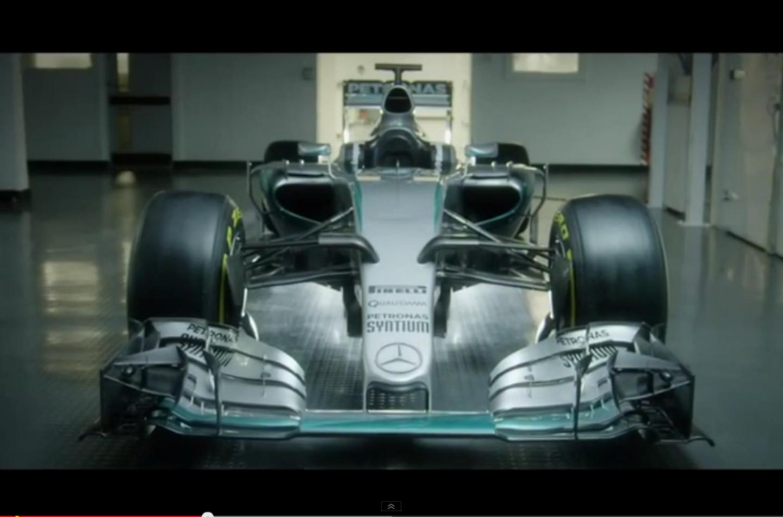 Video anteprima della nuova Mercedes W06 Hybrid