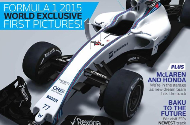 La Williams FW37 svelata su F1 Racing