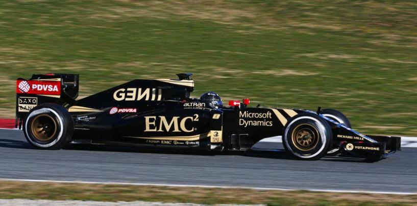 Test a Barcellona, ultimo giorno: Grosjean il più veloce