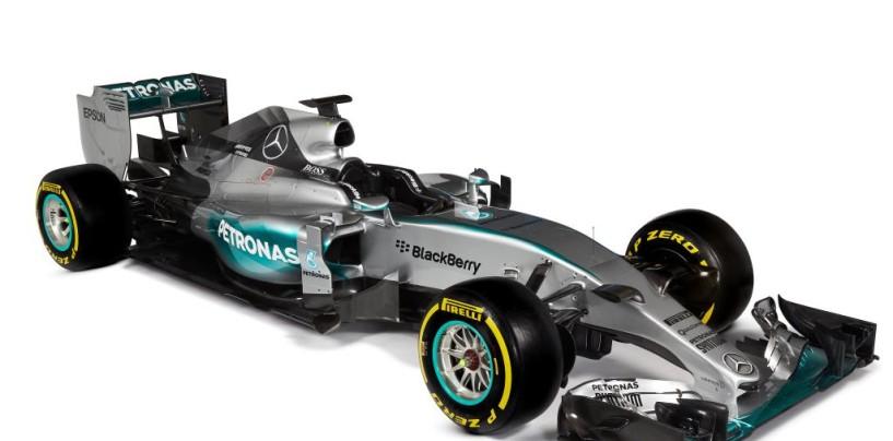 La Mercedes W06 presentata ufficialmente a Jerez